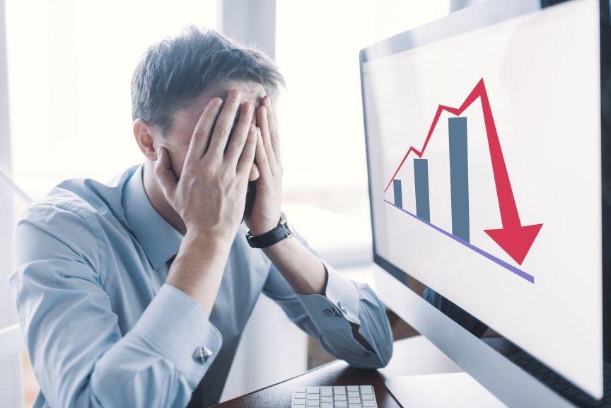 Sales manager frustrated by poor sales performance