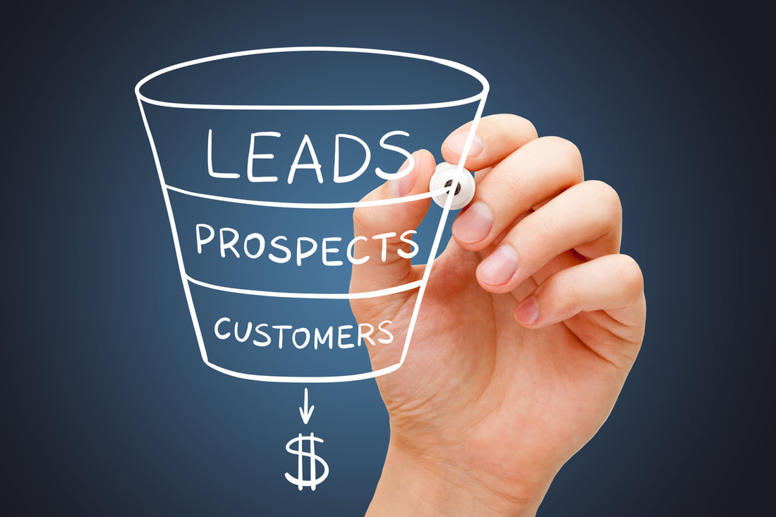 Generate leads at the top of the sales funnel